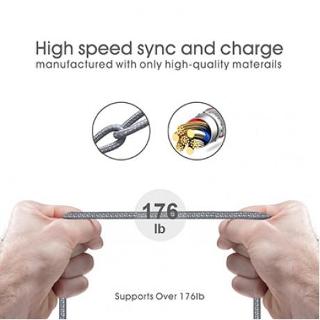 کابل تایمر دار TYPE-C برند DODAO مدل L7XS طول 1 متر