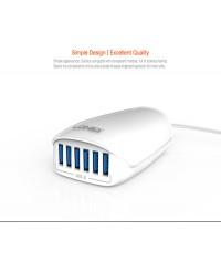 شارژر 6 پورت 5.4 امپر LDNIO مدل 6573 مناسب برای شارژ موبایل و تبلت