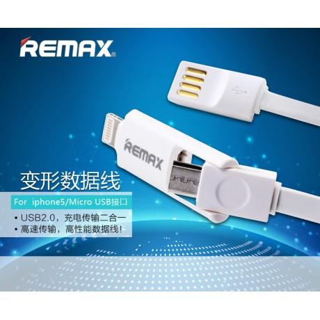 کابل  TRANSFORMER REMAX ایفون/اندروید