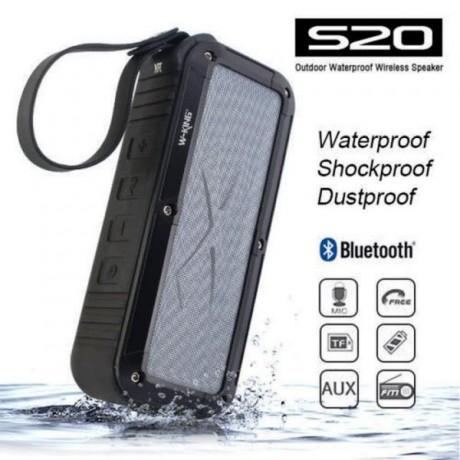 اسپیکر بلوتوث ضد آب برند W-KING مدل S20