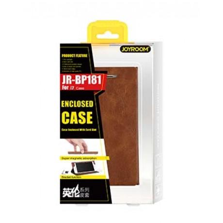 کیف چرمی گوشی موبایل apple iphone 7 PLUS برند joyroom مدل JR-BP181