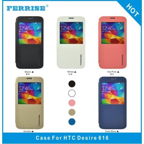 کیف چرم HTC DESIRE616 برند FERRISE