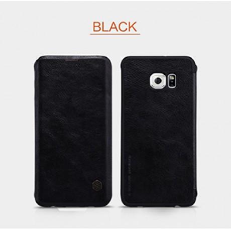 کیف چرم گوشی موبایل سامسونگ گلکسی S6 EDGE PLUS برند NILLKIN مدلQIN