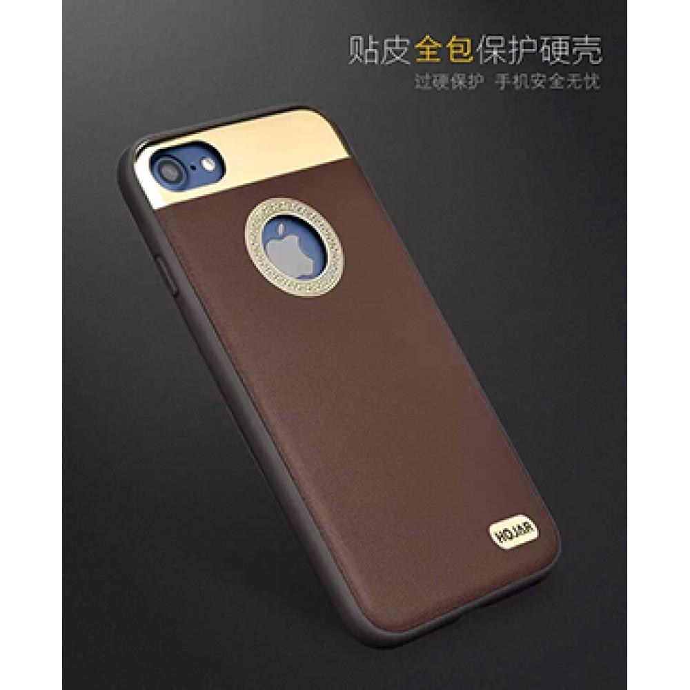 قاب محافظ گوشی موبایل اپل آیفون 7 برند HOJAR با روکش طلایی