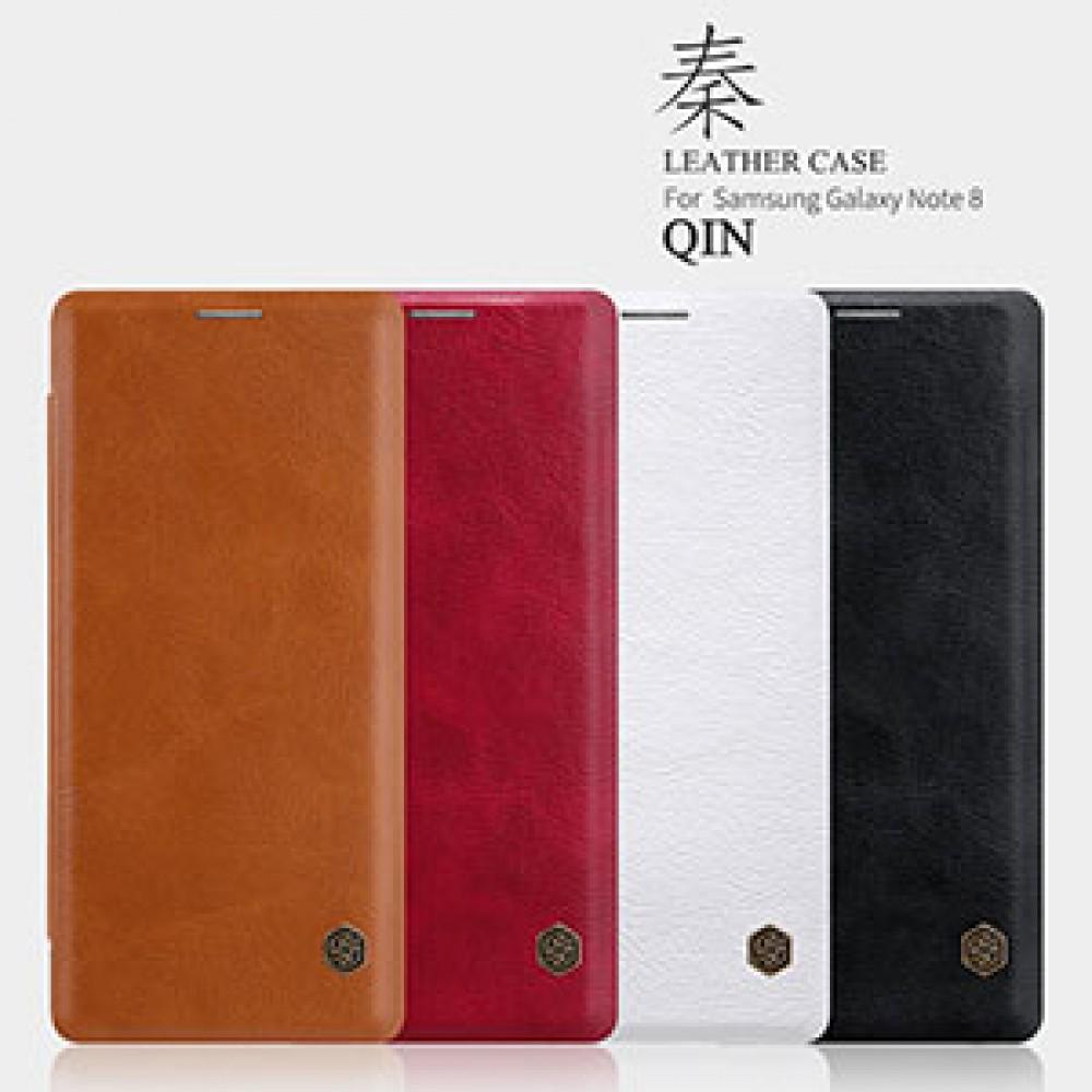 کیف چرم گوشی سامسونگ NOTE 8 نیلکین مدل QIN