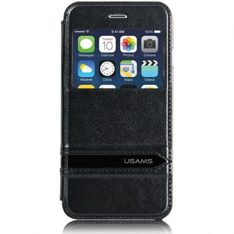 کیف چرم اپل ایفون 6S/6 مارک USAMS