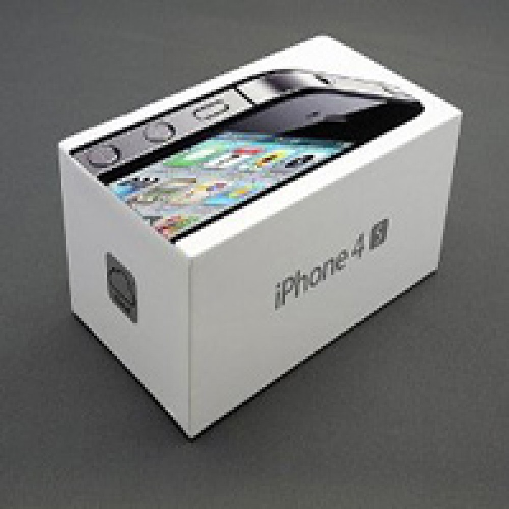 کارتن اصلی اپل ایفون 4S بدون سریال نامبر