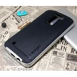 گارد ژله ای گوشی موبایل ال جی k8 برند spigen مدل neo hybrid