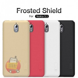 کاور محافظ گوشی موبایل نوکیا 3.1 برند نیلکین مدل فروستد شیلد