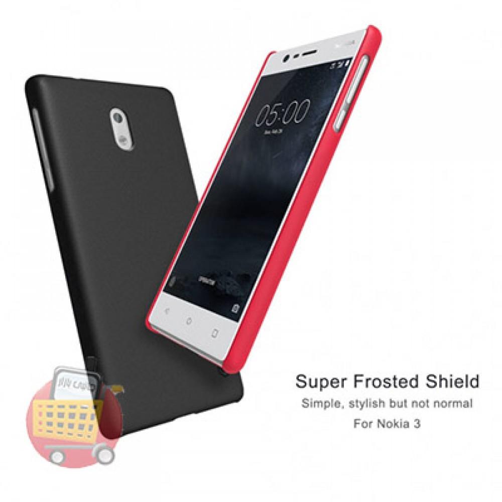 کاور محافظ گوشی موبایل نوکیا 3 برند نیلکین مدل FROSTED SHIELD