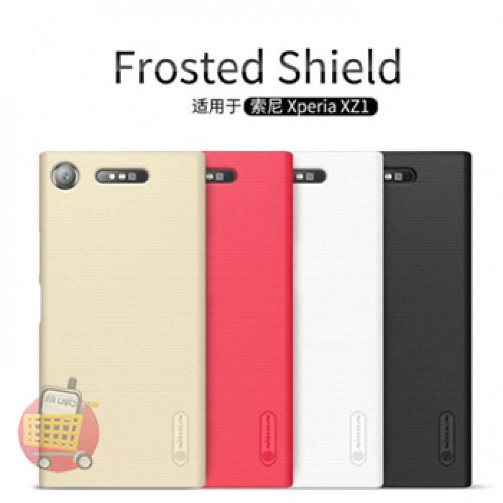 قاب محافظ گوشی موبایل سونی اکسپریا XZ1 برند نیلکین مدل FROSTED SHIELD