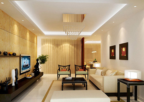 نور پردازی داخلی طراحی داخلی نور مخفی کناف