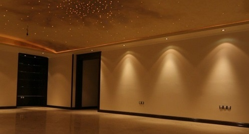 نور پردازی طراحی داخلی کناف